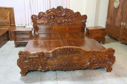 Gỗ Hương là gì ? Giường ngủ làm từ gỗ Hương có tốt không