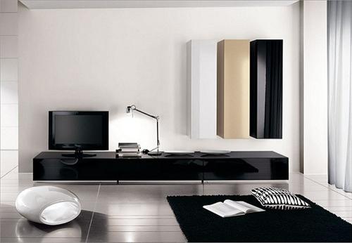 Ưu nhược điểm của kệ tủ tivi phòng khách bằng gỗ công nghiệp
