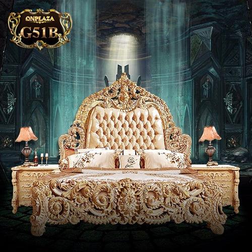 Tham khảo bộ sưu tập giường ngủ gỗ sồi cổ điển đẹp 2017