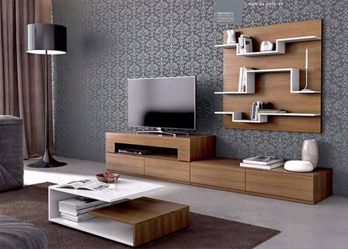 Đặc điểm nổi bật của kệ tủ tivi đẹp được làm bằng gỗ công nghiệp