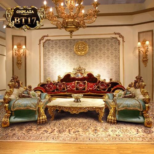 Người Á Đông chọn mua bàn ghế Sofa cổ điền ngày một nhiều