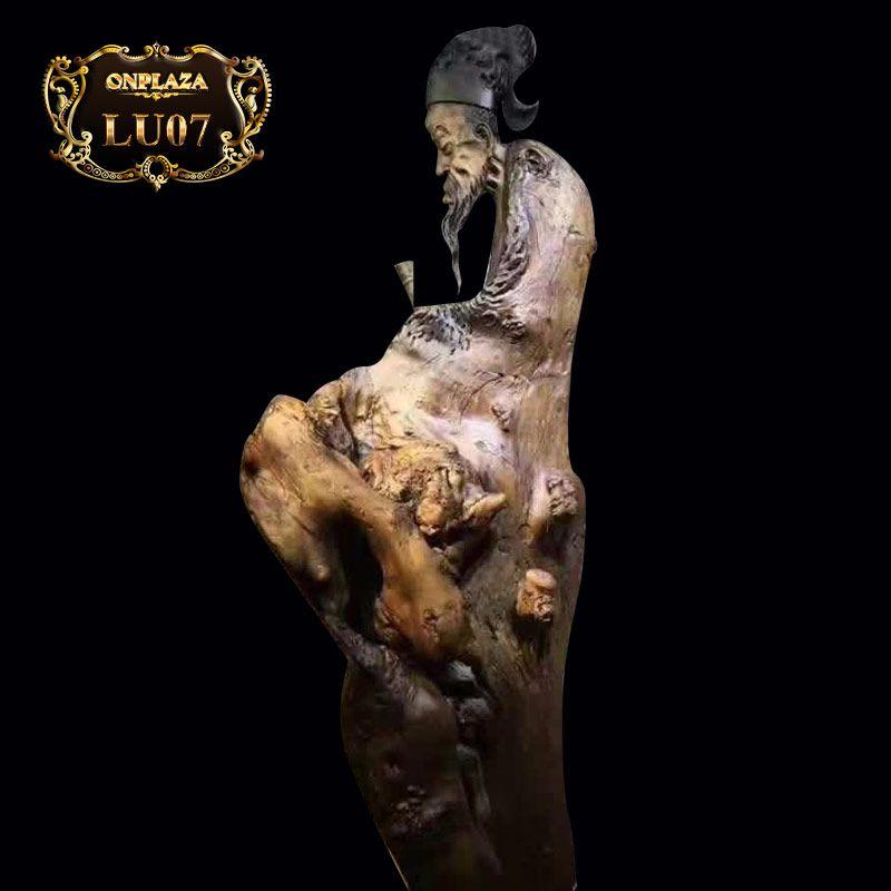 Lũa tài tử Tô Đông Pha nổi tiếng đời Tống gỗ sụ nam mộc LU07
