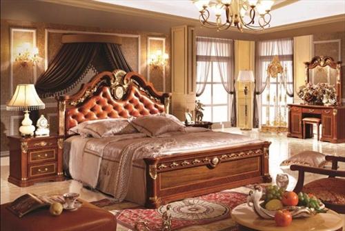 Xu hướng chọn mua Giường ngủ gỗ sồi phòng cách cổ điển năm 2017