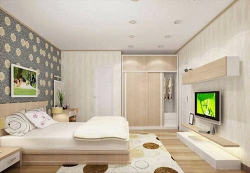 Tuyển tập những mẫu kệ tủ tivi phù hợp với phòng ngủ hiện nay