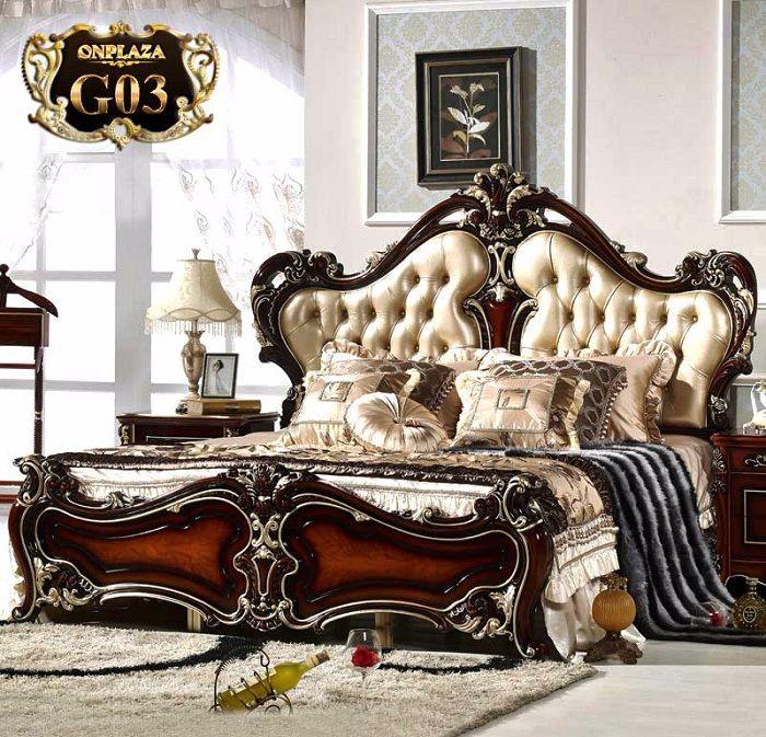 Chiếc giường ngủ tình nữ hoàng tình yêu đẹp sang trọng