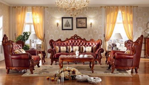 Nên chọn bàn ghế salon hay sofa cho phòng khách tân cổ điển