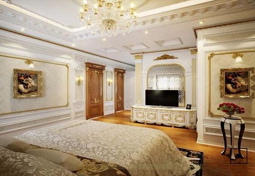 Những mẫu kệ tủ tivi đẹp phù hợp với không gian nội thất cổ điển