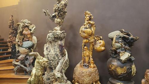 Bộ Album tượng bằng gỗ Nu nghệ thuật đẹp độc và lạ