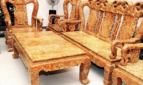 Kiến thức về gỗ nu Hương, nu Nghiến, nu Kháo trong nội thất gỗ quý