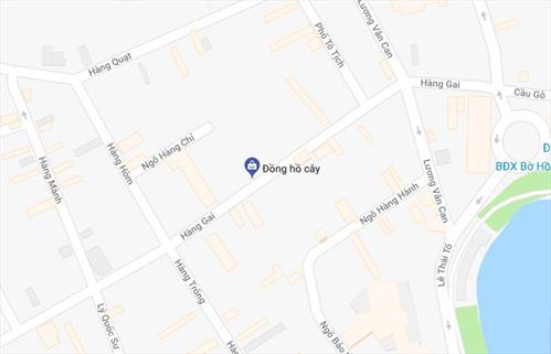 Cửa hàng Đồng hồ cây tại Hàng Gai, Hoàn Kiếm, Hà Nội