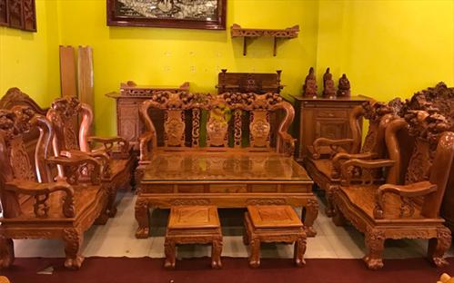 Top #6 mẫu Bàn ghế gỗ Hương đẹp cho không gian phòng khách