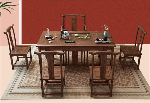 Mãn nhãn trước những bộ bàn ghế gỗ Sao tuyệt đẹp