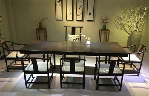 Những bộ bàn ghế gỗ Mun hoa Mun sừng đẹp cho phòng khách