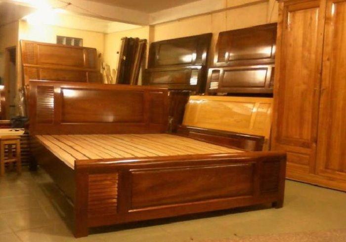 Gỗ xoan được sử dụng để đóng giường ngủ